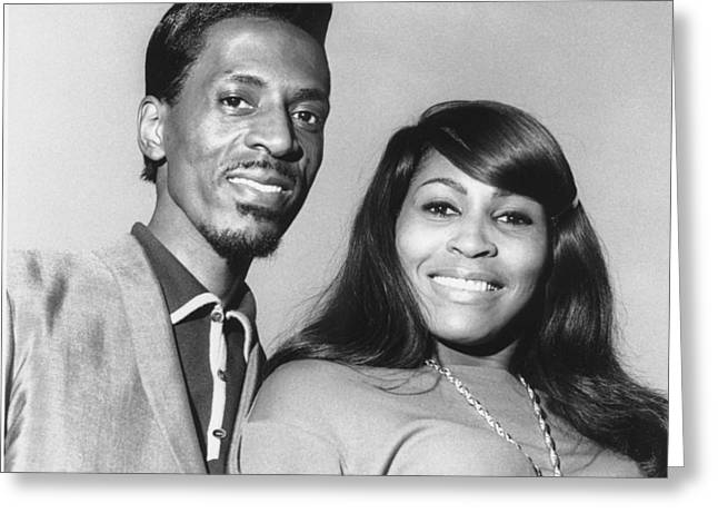 Ike And Tina Turner 1966 Greeting Card by Chris Walter