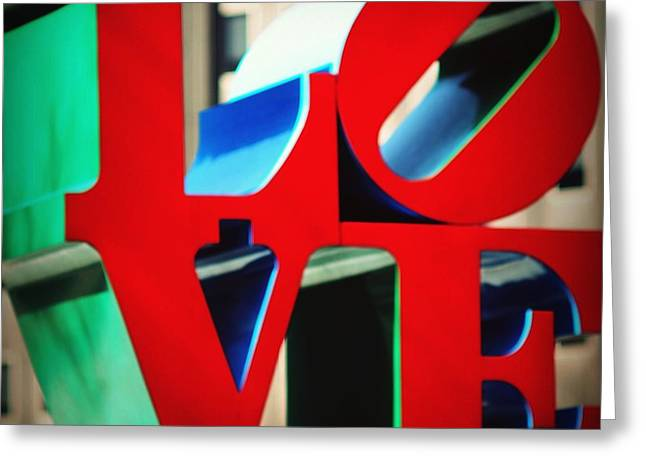 """jfk Plaza"" Greeting Cards - In Love We Trust Greeting Card by Mingtaphotography"