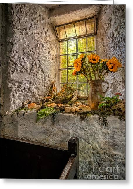 Historic Home Greeting Cards - In The Light Greeting Card by Adrian Evans