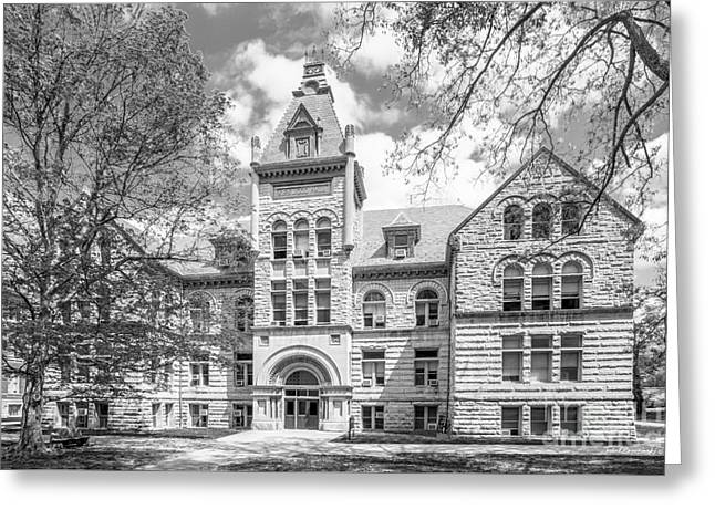 Bedford Greeting Cards - Indiana University Kirkwood Hall  Greeting Card by University Icons