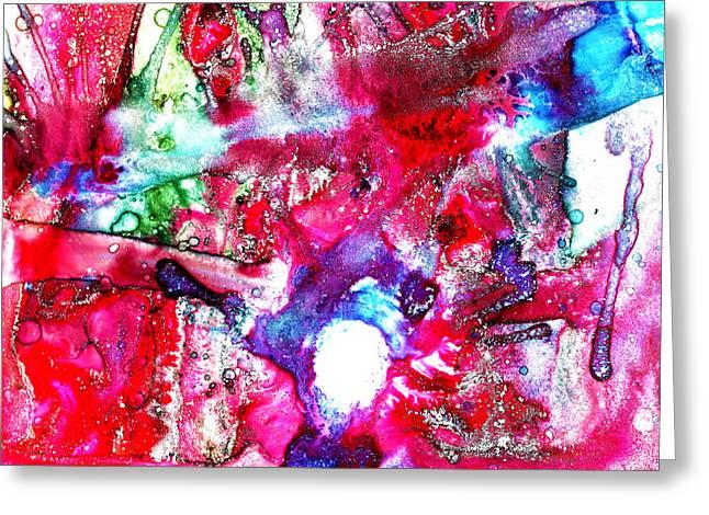 Intangible Greeting Card by Sir Josef Social Critic - ART