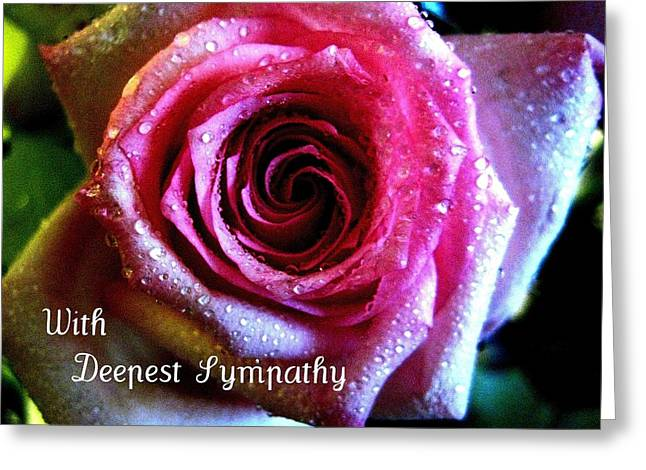 Card Greeting Cards - Intense Rose Greeting Card by Shirley Sirois