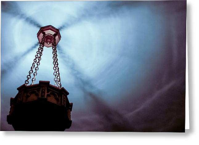 Church Fixture Greeting Cards - Intimidation Greeting Card by Michael August