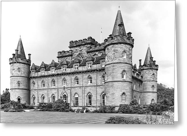 Campbell Clan Greeting Cards - Inveraray Castle, Inveraray, Argyle, Scotland.  28th August 2015 Greeting Card by Paul Cullen