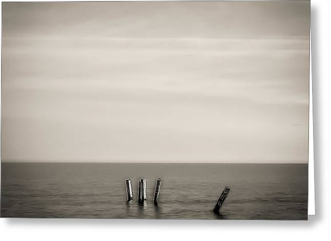 Best Ocean Photography Greeting Cards - Ipperwash Beach #2 Greeting Card by Jerry Golab