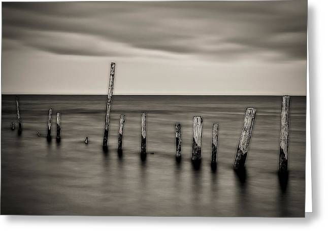 Best Ocean Photography Greeting Cards - Ipperwash Beach #3 Greeting Card by Jerry Golab
