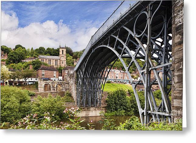 Ironbridge Greeting Card by Colin and Linda McKie