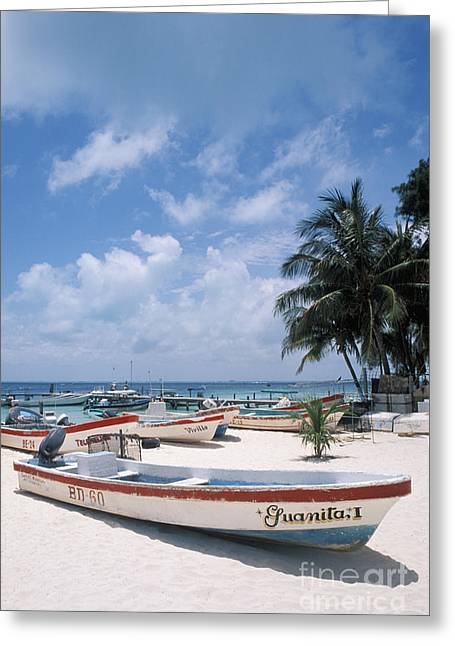 Mujeres Greeting Cards - Isla Mujeres Greeting Card by Bill Bachmann - Printscapes