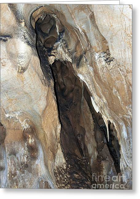 Geology Photographs Greeting Cards - Javoricko stalactite cave Greeting Card by Michal Boubin