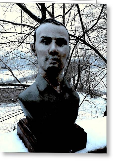 View Sculptures Greeting Cards - Jesse James Greeting Card by Vincent von Frese
