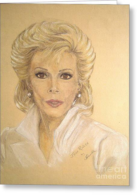 Rucker Greeting Cards - Joan Greeting Card by Nancy Rucker