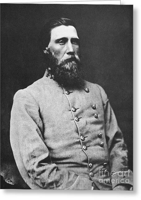 Confederate Army Greeting Cards - John Bell Hood (1831-1879) Greeting Card by Granger