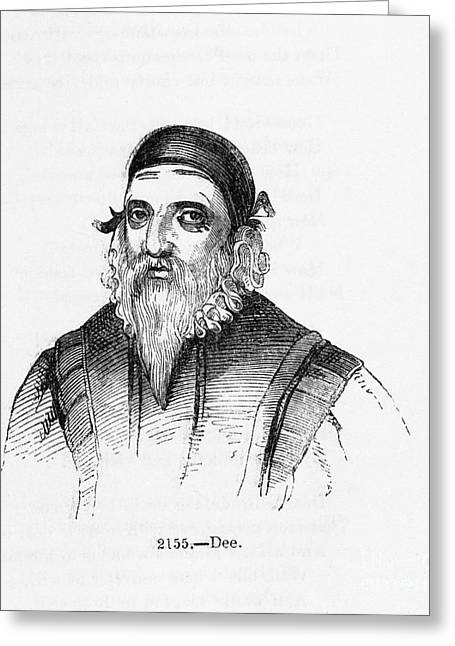 Human Spirit Greeting Cards - John Dee, British Mathematician Greeting Card by Middle Temple Library