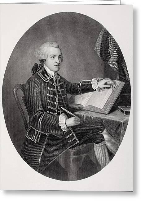 Signatories Greeting Cards - John Hancock 1737-1793. American Greeting Card by Ken Welsh