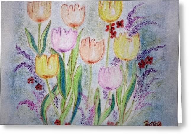 Get Well Soon Greeting Cards - Joy Greeting Card by Barbara Teller