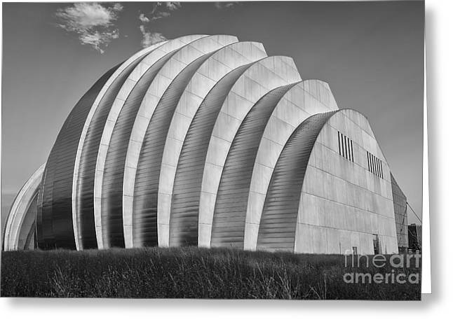 Symphony Hall Greeting Cards - Kauffman Center Greeting Card by Dennis Hedberg