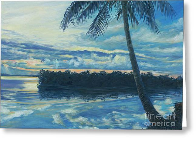 Key Largo Greeting Card by Danielle Perry