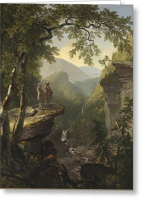Kindred Spirits  Greeting Card by Asher Brown Durand