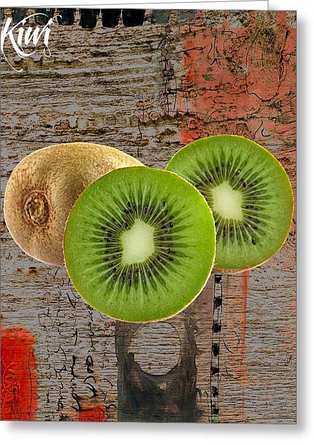 Decoration Greeting Cards - Kiwi Collection Greeting Card by Marvin Blaine