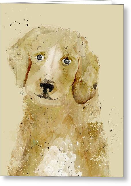 Retriever Prints Digital Art Greeting Cards - Labrador Greeting Card by Bri Buckley