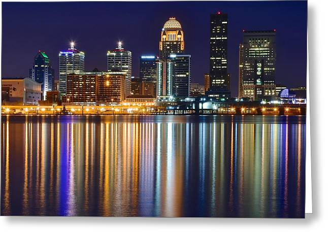 Yum Greeting Cards - Lavender Louisville Greeting Card by Frozen in Time Fine Art Photography