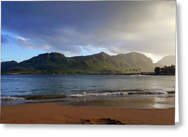 Lihue Greeting Card by Eric Wiles
