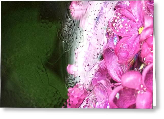 Lilac Greeting Card by Renata Vogl