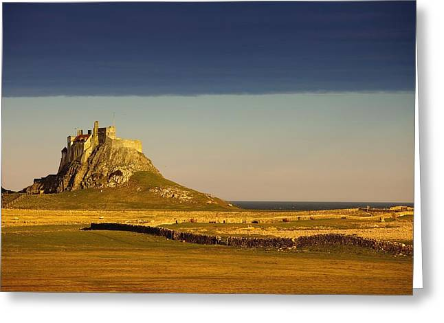 Long Distance Greeting Cards - Lindisfarne, Northumberland, England A Greeting Card by John Short