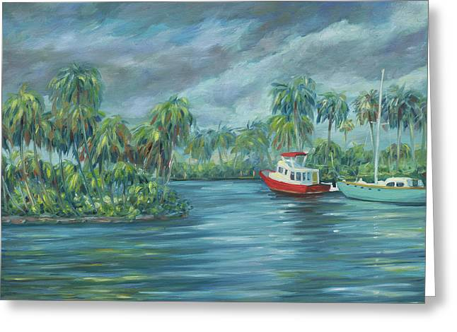 Little Florida Greeting Card by Danielle Perry