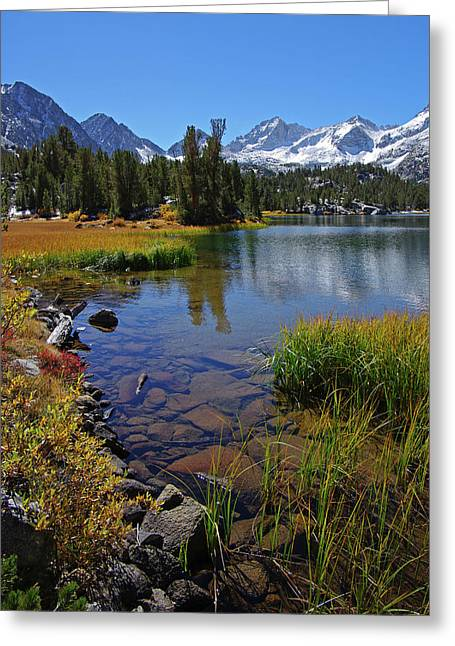 Little Lakes Valley Greeting Cards - Little Lakes Valley 3 Greeting Card by Eastern Sierra Gallery