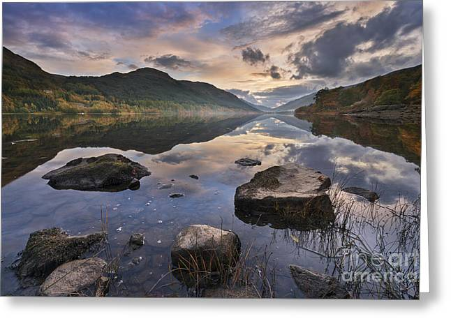 Still Water Greeting Cards - Loch Voil - Scotland Greeting Card by Rod McLean