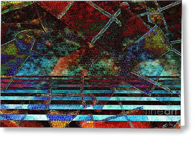 Loom Digital Art Greeting Cards - Loom Greeting Card by Ron Bissett