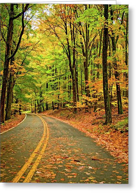 Lost In Pennsylvania - Paint Greeting Card by Steve Harrington