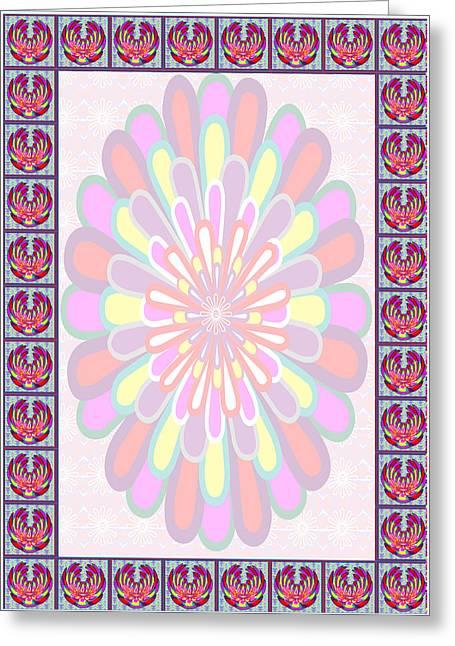 Diy Wedding Flowers Greeting Cards - Lotus Flower Wedding Blessings Board StockART StockIMAGES Invitation Greetings Stationary Greeting Card by Navin Joshi
