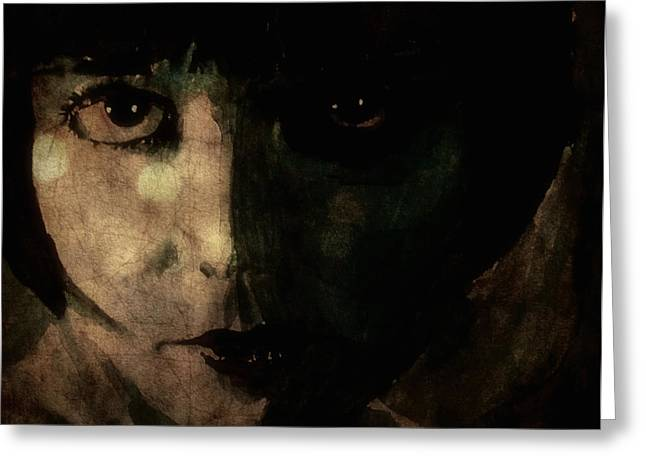 Louise Brooks Greeting Card by Paul Lovering