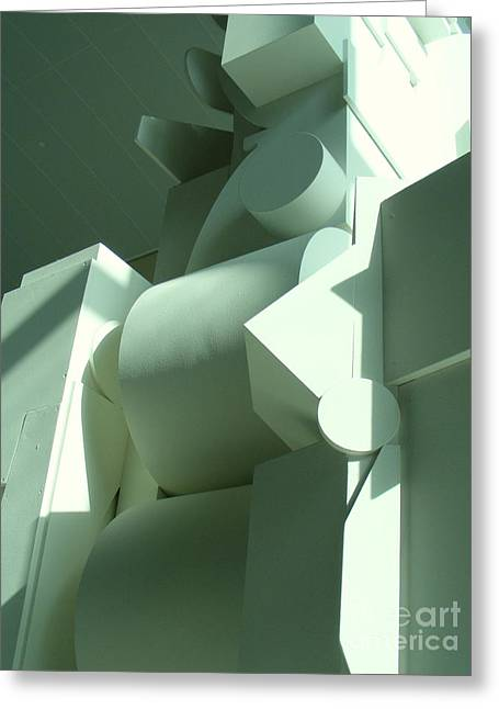20th Sculptures Greeting Cards - Louise Nevelson sculpture Greeting Card by Nancy Kane Chapman