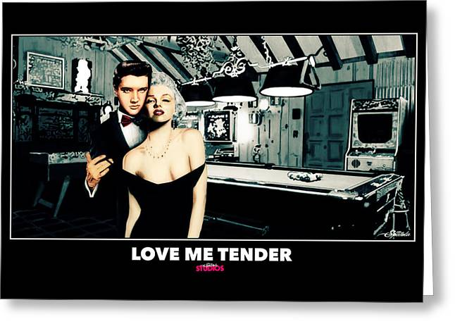 Love Me Tender  Greeting Card by Michael Spatola