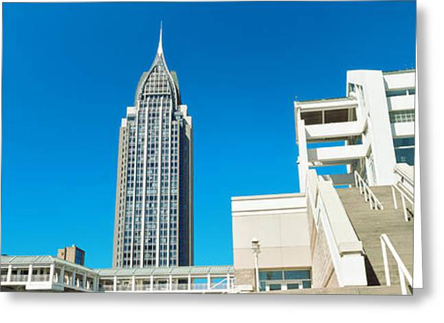 Low Angle View Of Buildings, Mobile Greeting Card by Panoramic Images