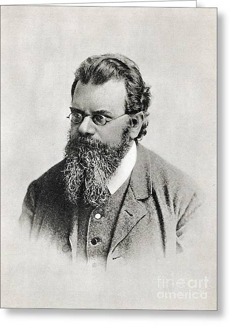 Commit Greeting Cards - Ludwig Boltzmann, Austrian Physicist Greeting Card by Photo Researchers