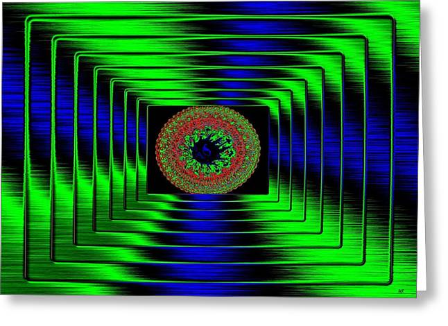 Luminous Energy 5 Greeting Card by Will Borden