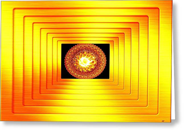 Will Power Digital Art Greeting Cards - Luminous Energy 7 Greeting Card by Will Borden