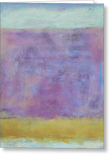 Abstract Nature Greeting Cards - Maine - December Greeting Card by Jacquie Gouveia