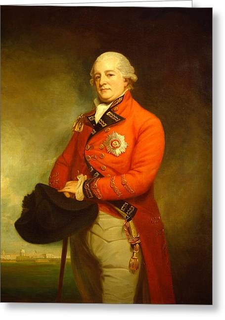 Major General Sir Archibald Campbell Greeting Card by Mountain Dreams