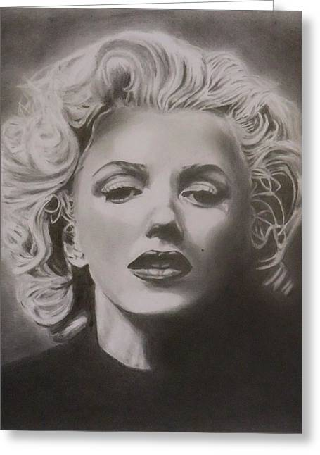 Norma Jean Greeting Cards - Marilyn Monroe Greeting Card by Mike OConnell