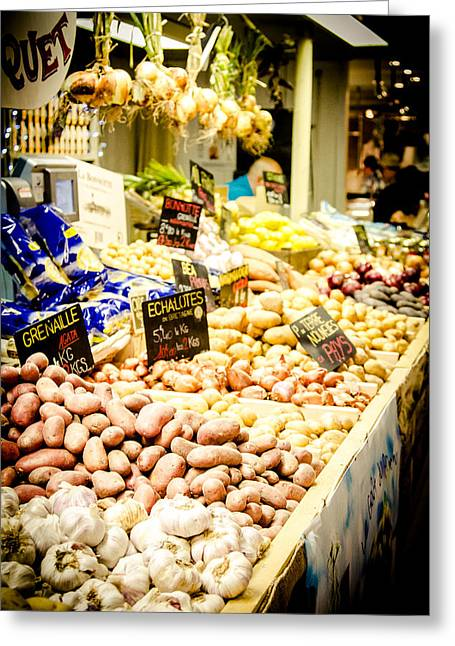 Grocery Store Greeting Cards - Market Greeting Card by Jason Smith