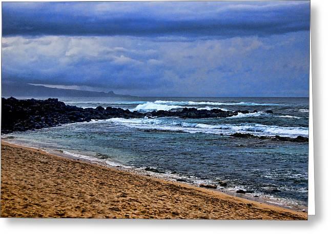 Jon Berghoff Greeting Cards - Maui Beach Greeting Card by Jon Berghoff