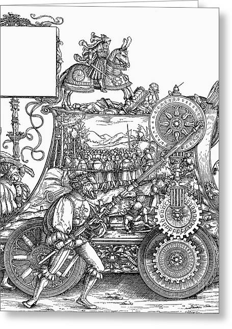March Drawings Greeting Cards - Maximilian I 1459-1519 Greeting Card by Granger