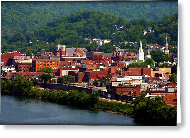 Clooney Greeting Cards - Maysville Kentucky Greeting Card by Susie Weaver
