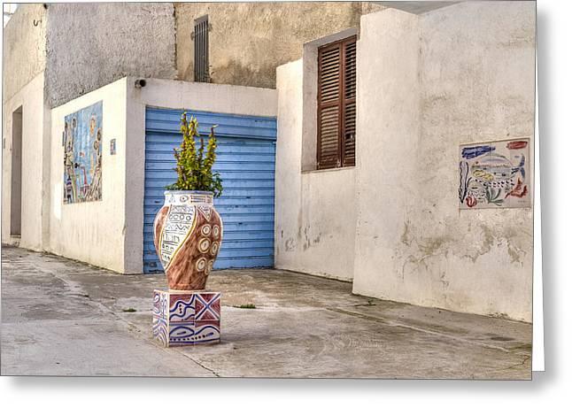 Mazara Del Vallo - Sicily Greeting Card by Joana Kruse
