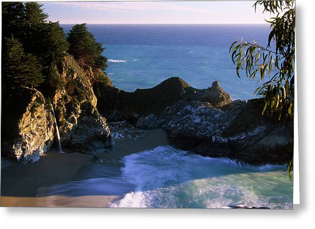 Mcway Falls Greeting Card by Soli Deo Gloria Wilderness And Wildlife Photography